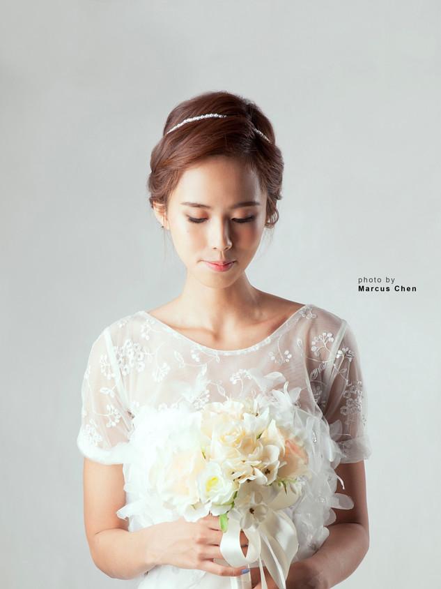Korean Natural Makeup and Hair   Wedding Brides