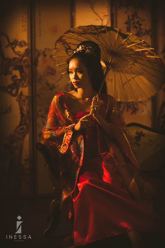 [Chinese Ancient Beauty] Hair and Makeup by Nikoru Nicole