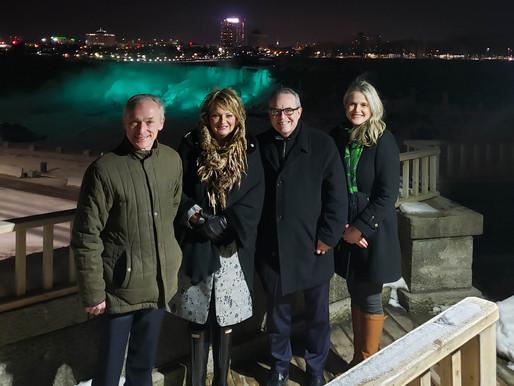 Niagara Falls Goes Green