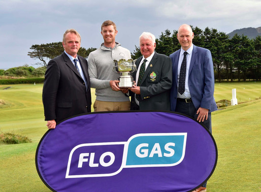 Cork's Peter O'Keeffe Wins The Flogas Pro Am Cup at Royal County Down