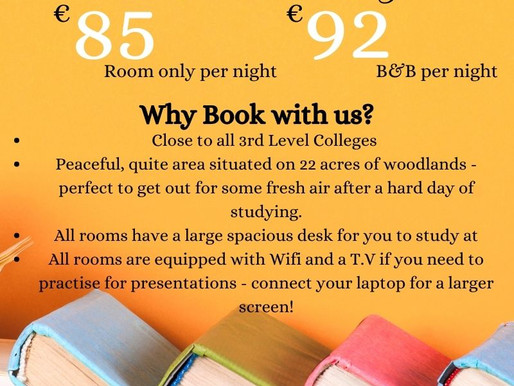 Are you going to be studying in Cork this Autumn Semester?📚