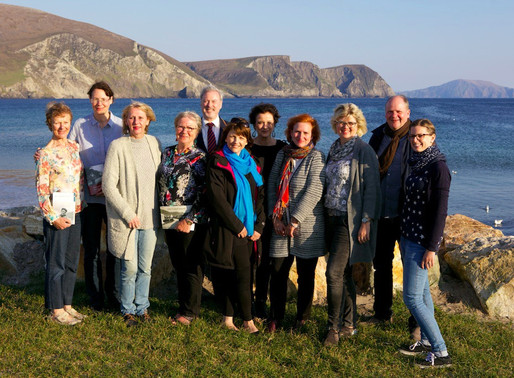 German Media Visit Ireland to follow in the Footsteps of Famous Writer Heinrich Böll