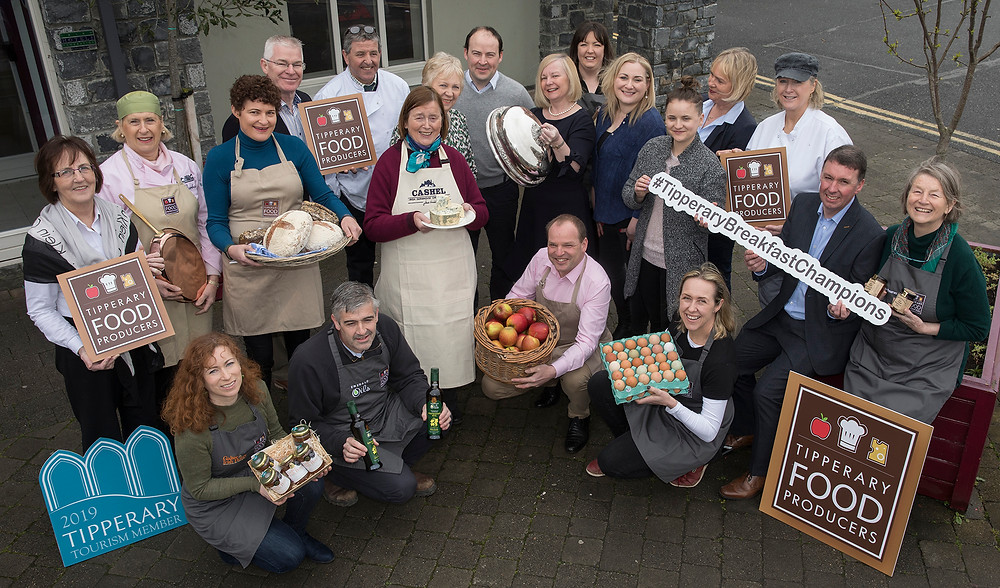 Tipperary food producers Breakfast Champions launch