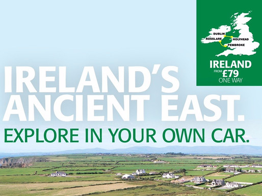 Tourism Ireland Partners With Irish Ferries to Grow Tourist Numbers to the South East
