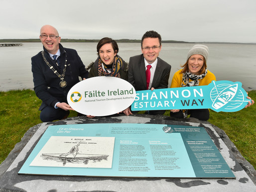 Fáilte Ireland unveils viewing points for  Shannon Estuary Way
