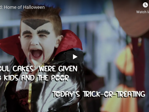 New Tourism Ireland Video Highlights Ireland As The 'Home of Halloween'