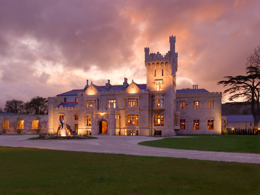 """Lough Eske Castle Celebrates 2 AA Rosettes, And Their """"GOURMET GETAWAY"""" Package Is The Ideal Way To"""