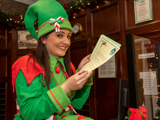 Metropole Hotel Will Raise Funds For Cork Penny Dinners With Special Elf Letters