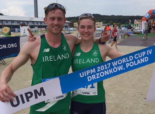 Aramark Ambassador, Natalya Coyle, Wins Gold for Ireland at the Pentathlon World Cup Event in Poland