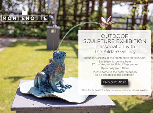 Largest Sculpture Exhibition in Ireland opens at The Montenotte Hotel Gardens