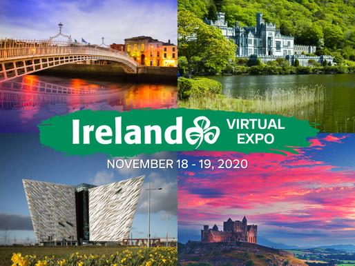 Tourism Ireland Hosts 'Ireland Virtual Expo'