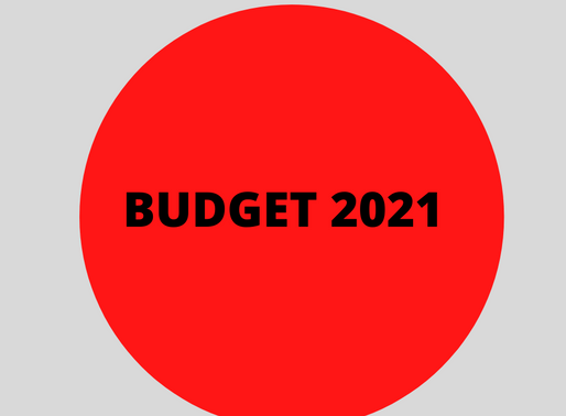 HOTELIERS WELCOME BUDGET 2021 MEASURES