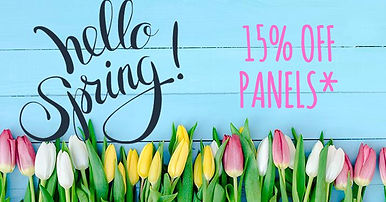 Spring Curtain Sale