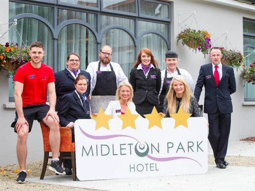 Twinkle, Twinkle, Midleton Star - Midleton Park Hotel Awarded Four Star Recognition!