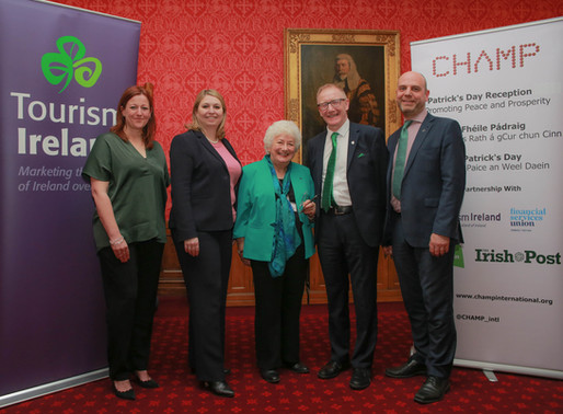 Tourism event in House of Lords kicks off programme of St Patrick's 2019 celebrations