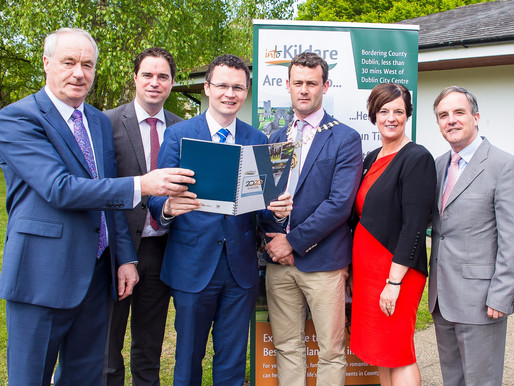 County Kildare Fáilte and Minister of State for Tourism launch a 4-Year Strategy