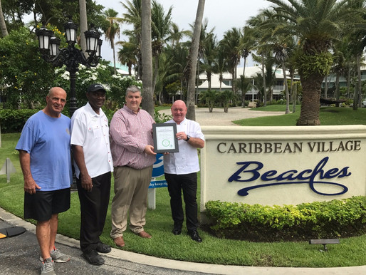 Beaches Turks and Caicos Resort Villages and Spa Reduce Carbon Emissions Significantly