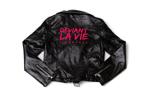 Pu$$y Pink Leather Jacket