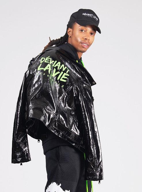 Slime Leather Jacket