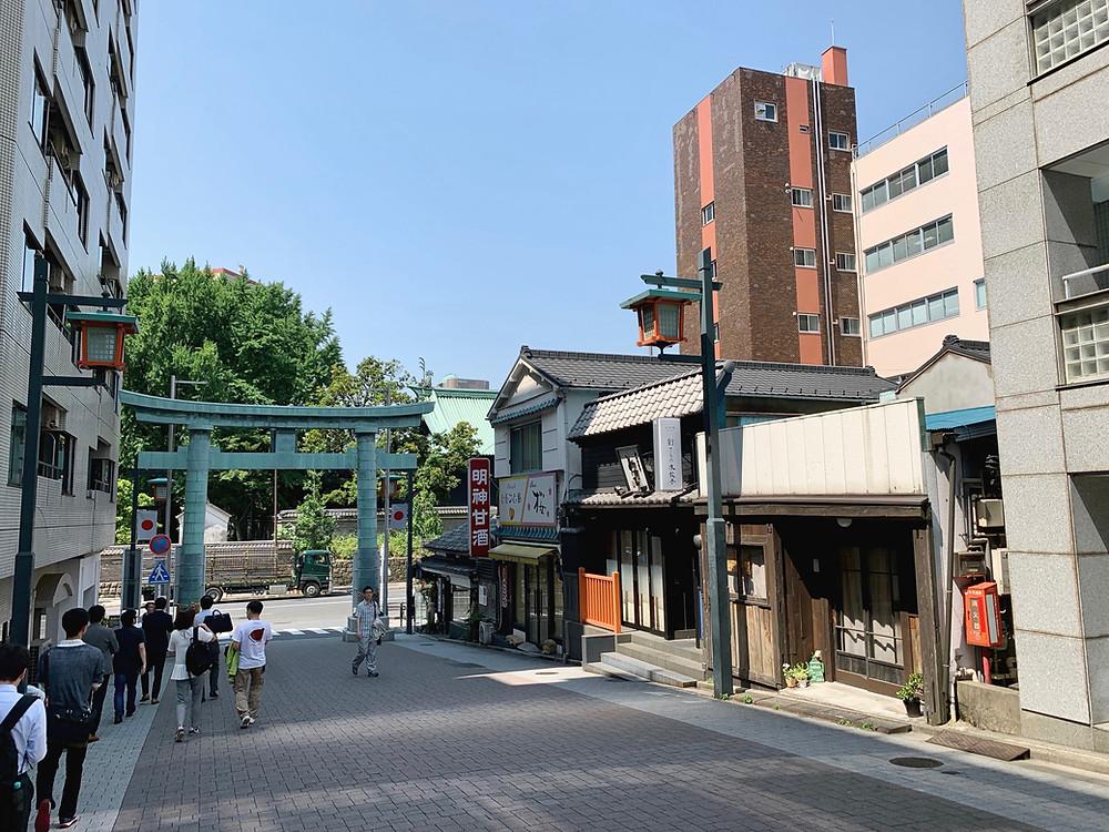 Outer gate of Kanda Shrine, Chiyoda, Tokyo, Japan