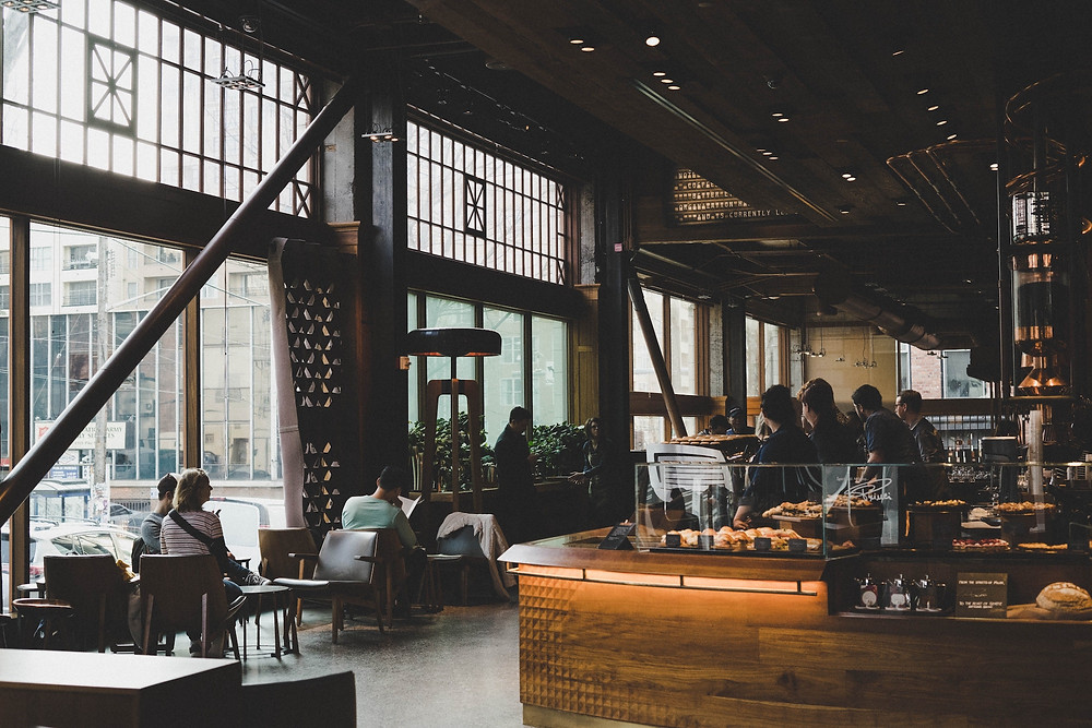 Starbucks Coffee cafe interior