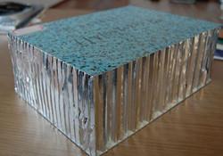 Honeycomb Panel Blue