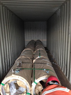 Coils in Container