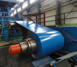 Painted Galvanized Steel Production