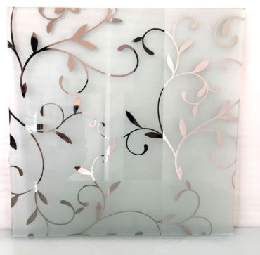 Decorated Glass