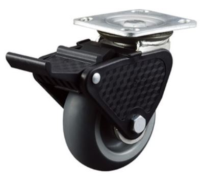 "4-8"" Drop Heavy Duty Caster"