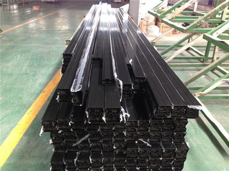 Aluminum Extrusion - Black Anodized