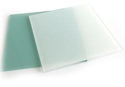White Tempered Glass