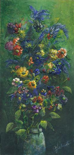A Mason Jar Full of Flowers