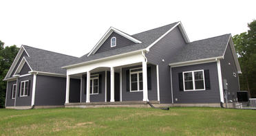 Foster Hollow - Front Elevation