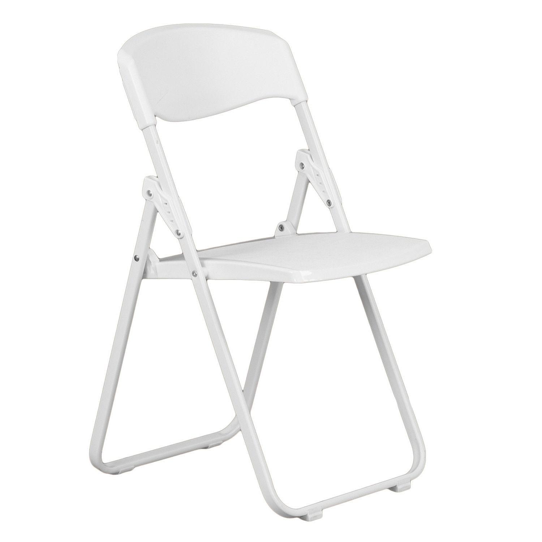 White Samsonite Chair