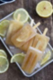 Sweet Tea and Lemon Popsicle