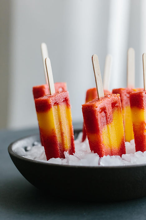 Strawberry Mango Popsice