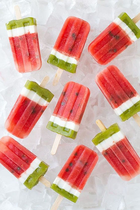 Watermelon Popsicle