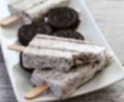 Cookies and Cream Popsicle