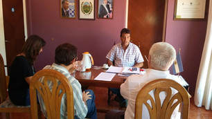 Potrero de los Funes firmó un convenio con (RAMCC) para brindar Asistencia Técnica en Energía.