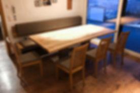 Eiche Sitzgruppe Tischlerarbeit aus Österreich