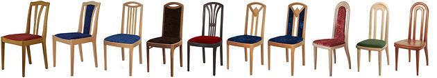 Gestalten Sie Ihren Sessel ganz nach Ihren Wünschen. In der Holzart, der Oberfläche und dem Bezugsmaterial Ihrer Wahl.