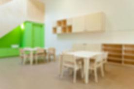 Kindersessel stapelbar für Kindergarten oder Kinderzimmer Birke