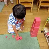 2歳児:感覚教育3