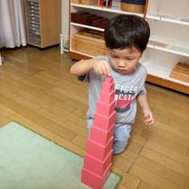 2歳児:感覚教育4