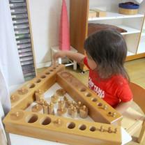 2歳児:感覚教育2