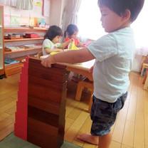 2歳児:感覚教育7