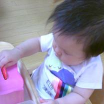 0歳児:日常生活の練習04