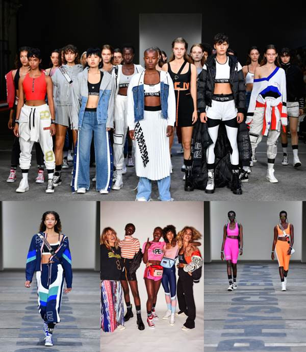 MBFW: P.E NATION BLURS THE LINES OF FASHION AND SPORT BRINGING ELEVATED STREET STYLE TO THE RUNWAY