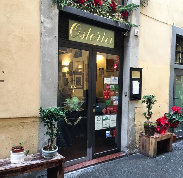 Osteria Vini e Vecchi Sapori, Florence, Italy